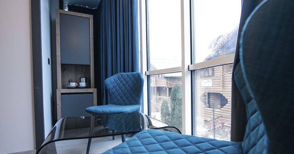 В отеле Blue Mountain заказать НОМЕР 45 в буковеле фото №7